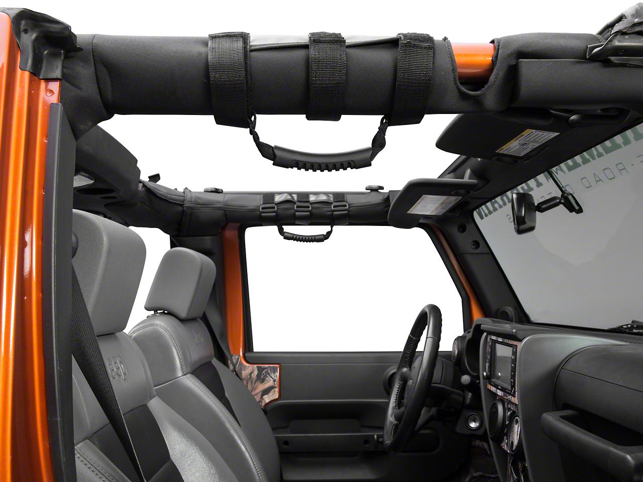 RedRock 4x4 Extreme Sport Grab Handles - Pair (87-18 Jeep Wrangler YJ, TJ, JK & JL)