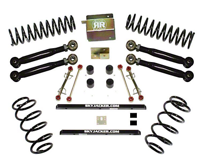 SkyJacker 2.5 in. Value Flex Lift Kit w/o Shocks (03-06 Wrangler TJ Rubicon)