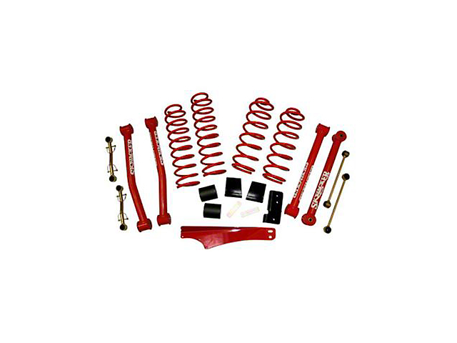 SkyJacker 2.5 in. Value Flex Lift Kit w/o Shocks (07-18 Jeep Wrangler JK)