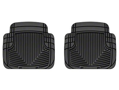 Weathertech All Weather Rear Rubber Mat (87-13 Jeep Wrangler YJ, TJ & JK)
