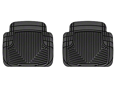 Weathertech All Weather Rear Rubber Mat (87-13 Wrangler YJ, TJ & JK)