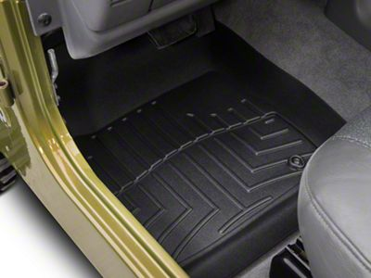 Weathertech Digital Fit Front Floor Liner (97-06 Jeep Wrangler TJ)