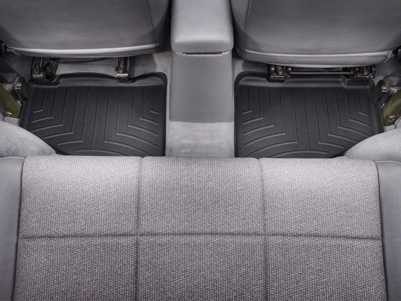 Weathertech DigitalFit Rear Floor Liner - Black (97-06 Jeep Wrangler TJ)
