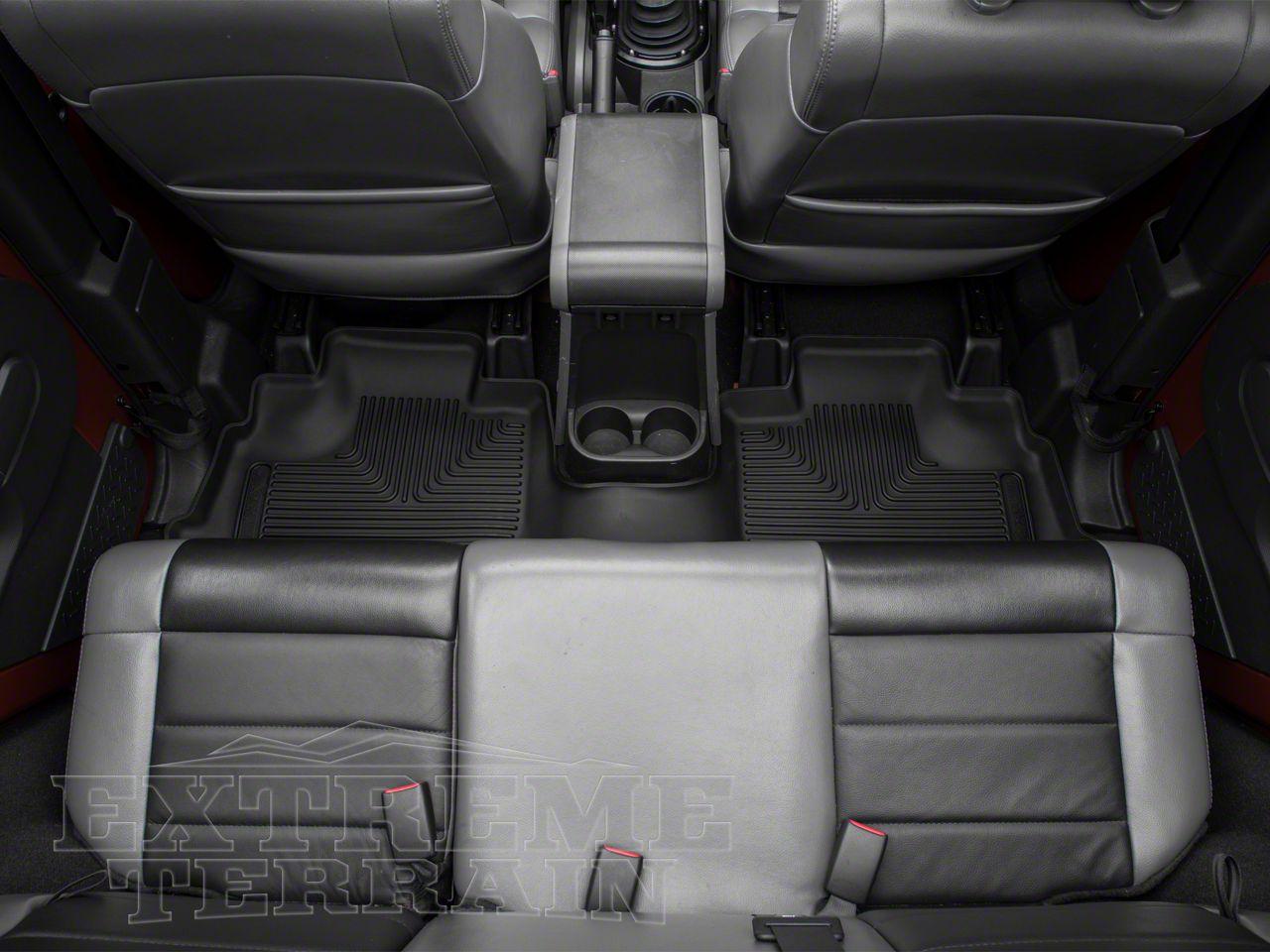 Husky X-Act Contour Floor Liner - Rear (14-18 Jeep Wrangler JK 4 Door)