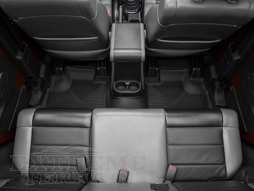 Husky X-Act Contour Floor Liner - Rear (14-18 Jeep Wrangler JK 4 Door)