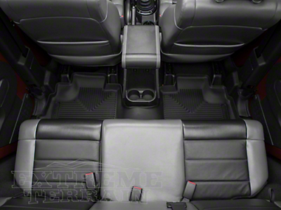 Husky X-Act Contour Floor Liner - Rear (14-18 Wrangler JK 4 Door)