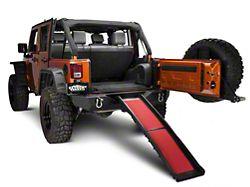 Kurgo Non-Slip Pet Ramp (87-19 Jeep Wrangler YJ, TJ, JK & JL)