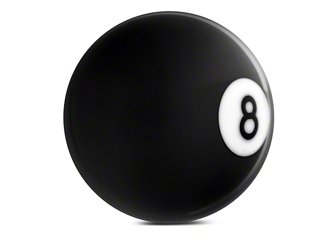 Alterum 8 Ball Billiard Pool Custom Shift Knob (87-18 Wrangler YJ, TJ & JK)