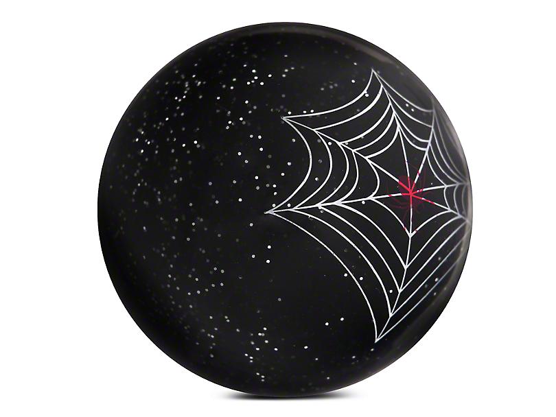 Alterum Translucent Black Spider Custom Shift Knob with Metal Flake (87-18 Jeep Wrangler YJ, TJ & JK)