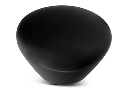 Alterum Black Retro Series Custom Shift Knob Opaque (87-18 Wrangler YJ, TJ & JK)
