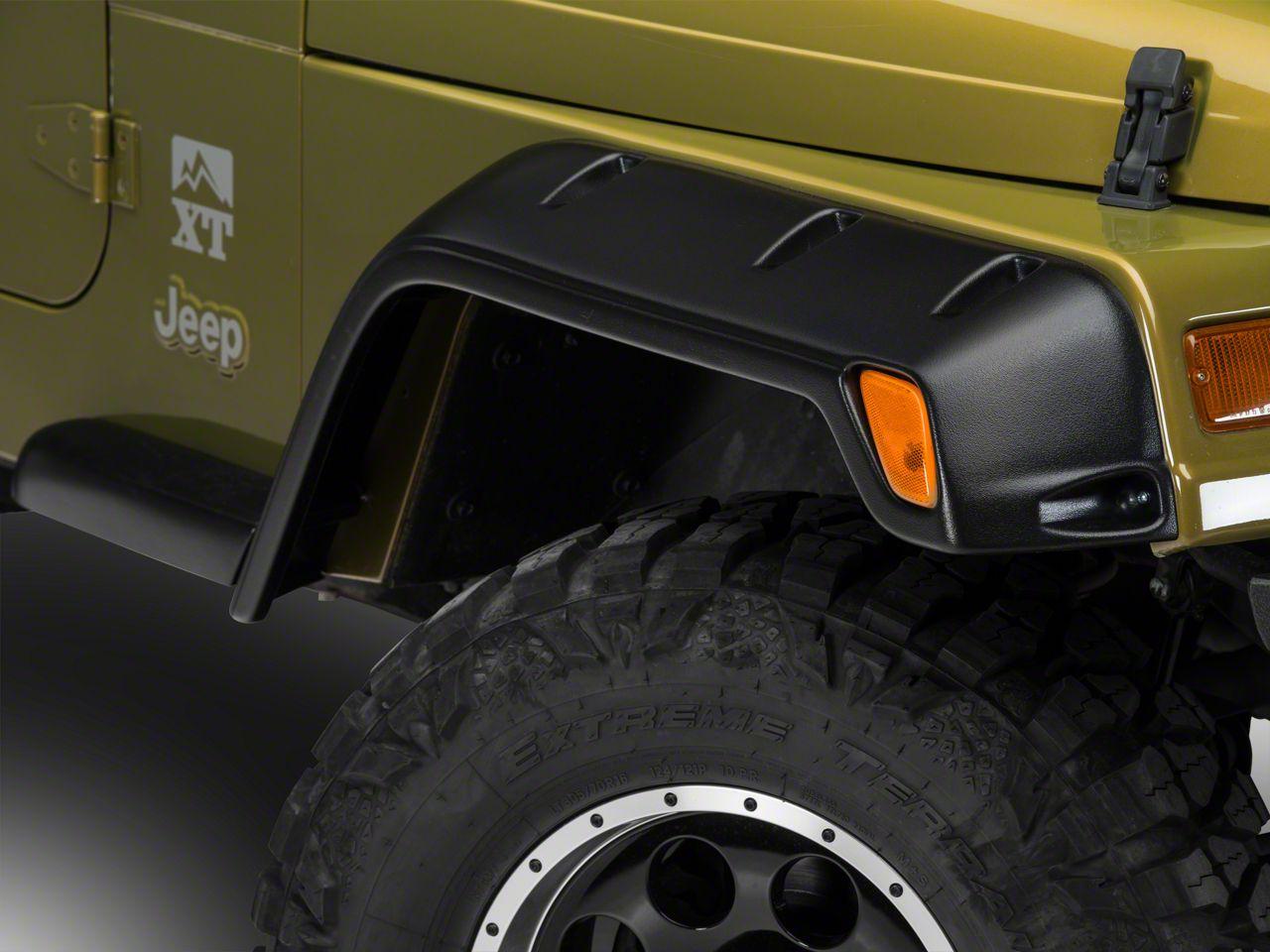 Barricade Rivet Style Fender Kit (97-06 Jeep Wrangler TJ)