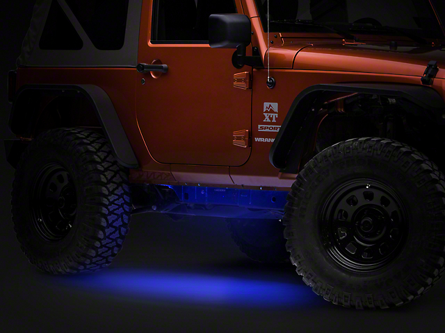 Axial Wrangler Flexible Led Strip 36 In Blue J102447 87 18 Wrangler Yj Tj Jk Jl Free