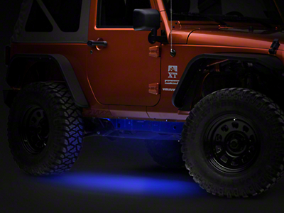 Axial Flexible LED Strip 36 in. - Blue (87-18 Jeep Wrangler YJ, TJ, JK & JL)