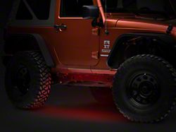 Axial Flexible LED Strip 36 in. - Red (87-19 Jeep Wrangler YJ, TJ, JK & JL)