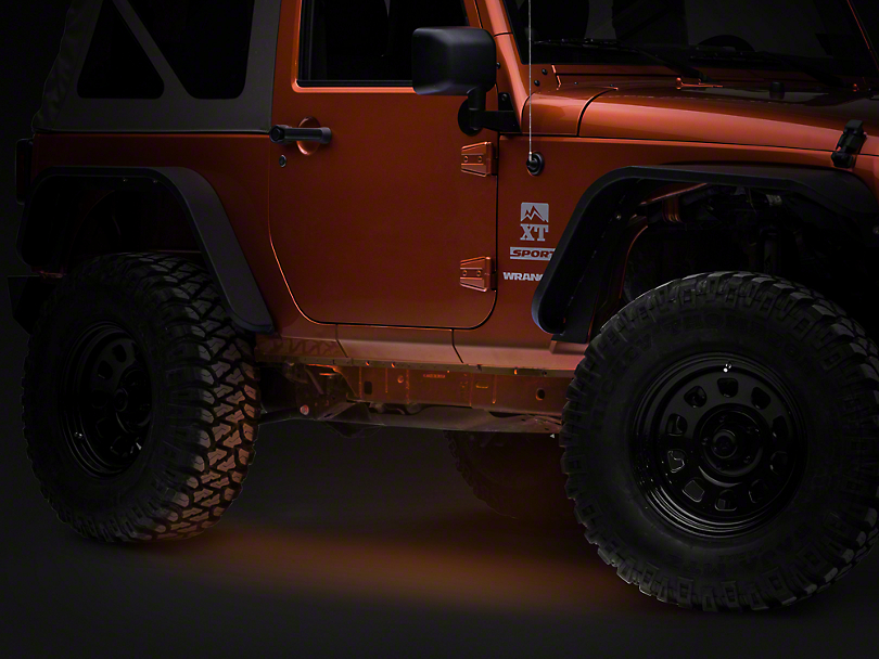 Axial Flexible LED Strip 36 in. - Amber (87-19 Jeep Wrangler YJ, TJ, JK & JL)