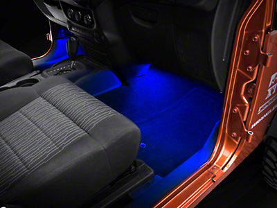 Axial 15 in. LED Strips - Blue (87-18 Jeep Wrangler YJ, TJ, JK & JL)