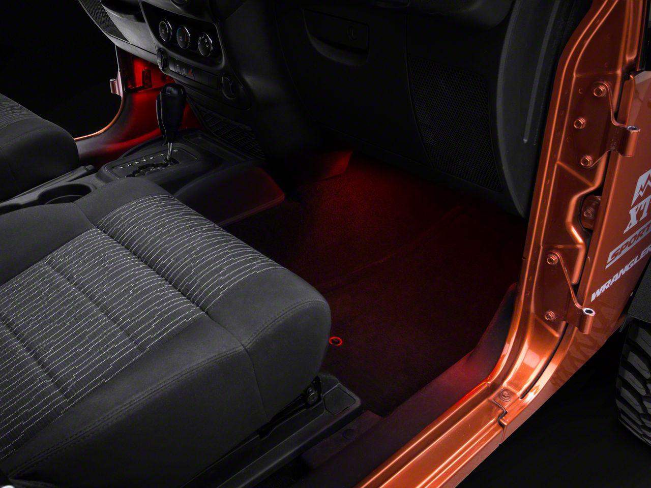 Axial 15 in. LED Strips - Red (87-19 Jeep Wrangler YJ, TJ, JK & JL)