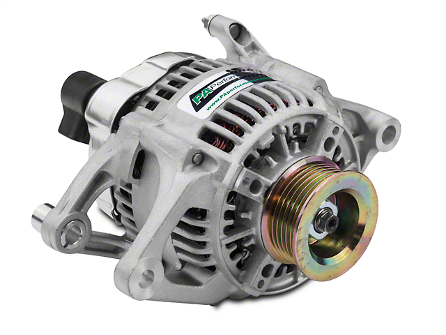 PA Performance Alternator - 120A (91-98 2.5L or 4.0L Jeep Wrangler YJ & TJ)