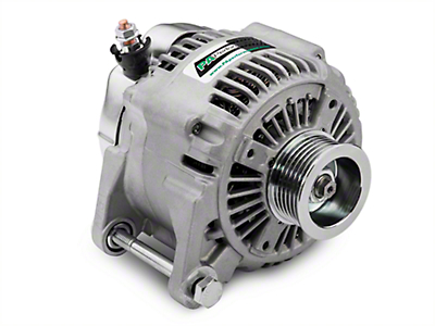 PA Performance Alternator - 160A (00-06 4.0L Jeep Wrangler TJ)