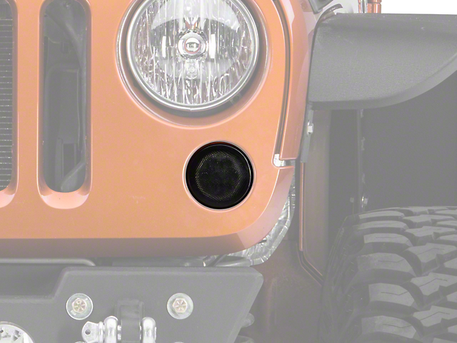 Recon Smoked Turn Signals with Amber LEDs (07-18 Wrangler JK)