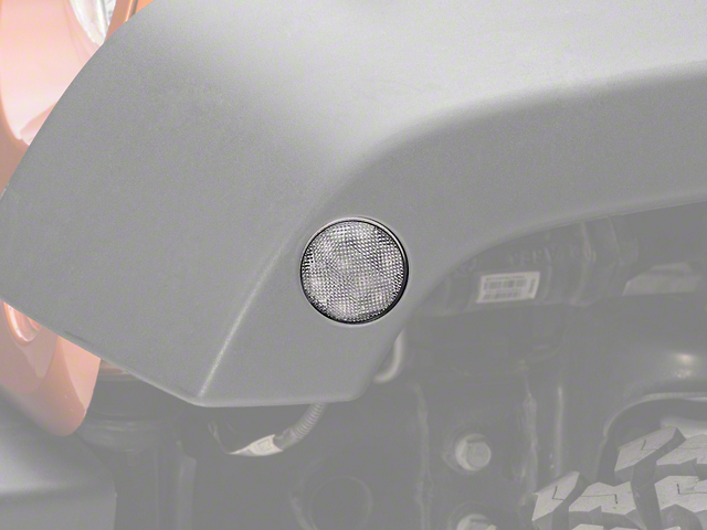 Recon Side Marker Lights w/ Amber LEDs (07-18 Jeep Wrangler JK)