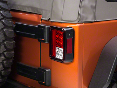 Recon Red LED Tail Lights (07-18 Wrangler JK)