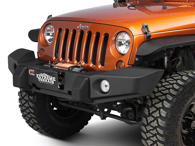 arb deluxe winch front bumper (07 18 jeep wrangler jk) Jeep Wrangler Jk Winch Bumpers