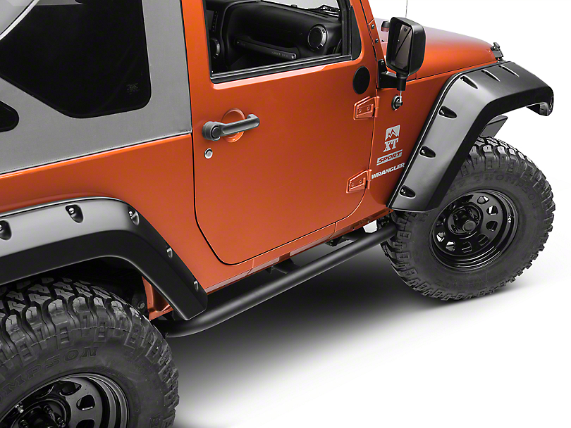 ARB Rock Sliders - Textured Black (07-18 Wrangler JK 2 Door)