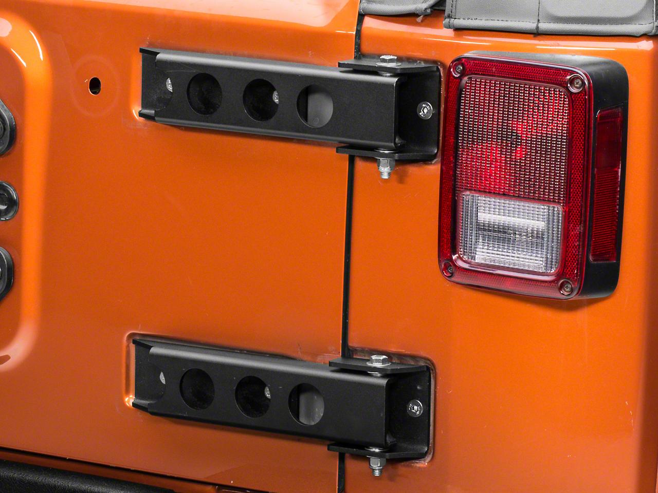 MORryde Heavy Duty TailGate Hinge Set (07-18 Jeep Wrangler JK)
