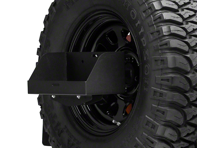 MORryde Spare Tire Jerry Can Holder w/ Tall Tray (87-18 Jeep Wrangler YJ, TJ & JK)