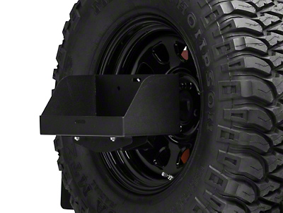 MORryde Spare Tire Jerry Can Holder w/ Tall Tray (87-18 Wrangler YJ, TJ, JK & JL)