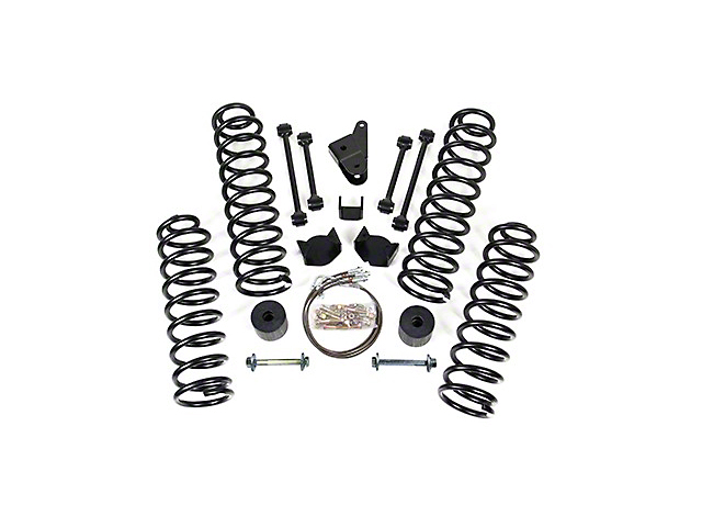 readylift wrangler 4 5 in  lift kit no shocks w   extended
