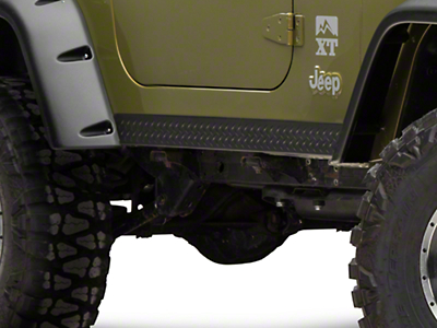 Bushwacker Textured DiamondBack Six Piece Set for Pocket Style Fender Flares (97-06 Jeep Wrangler TJ)