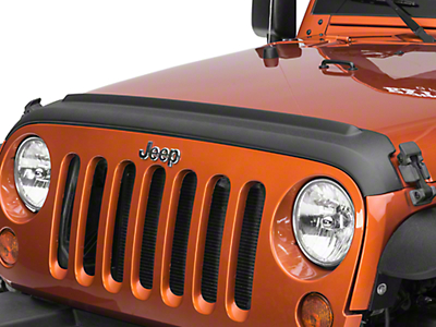 Bushwacker Textured Hood and TailGate Protector (07-18 Jeep Wrangler JK)