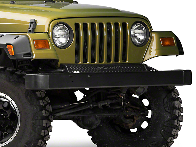 Bushwacker Textured DiamondBack Front & Rear Accent Pieces - Pair (97-06 Jeep Wrangler TJ)
