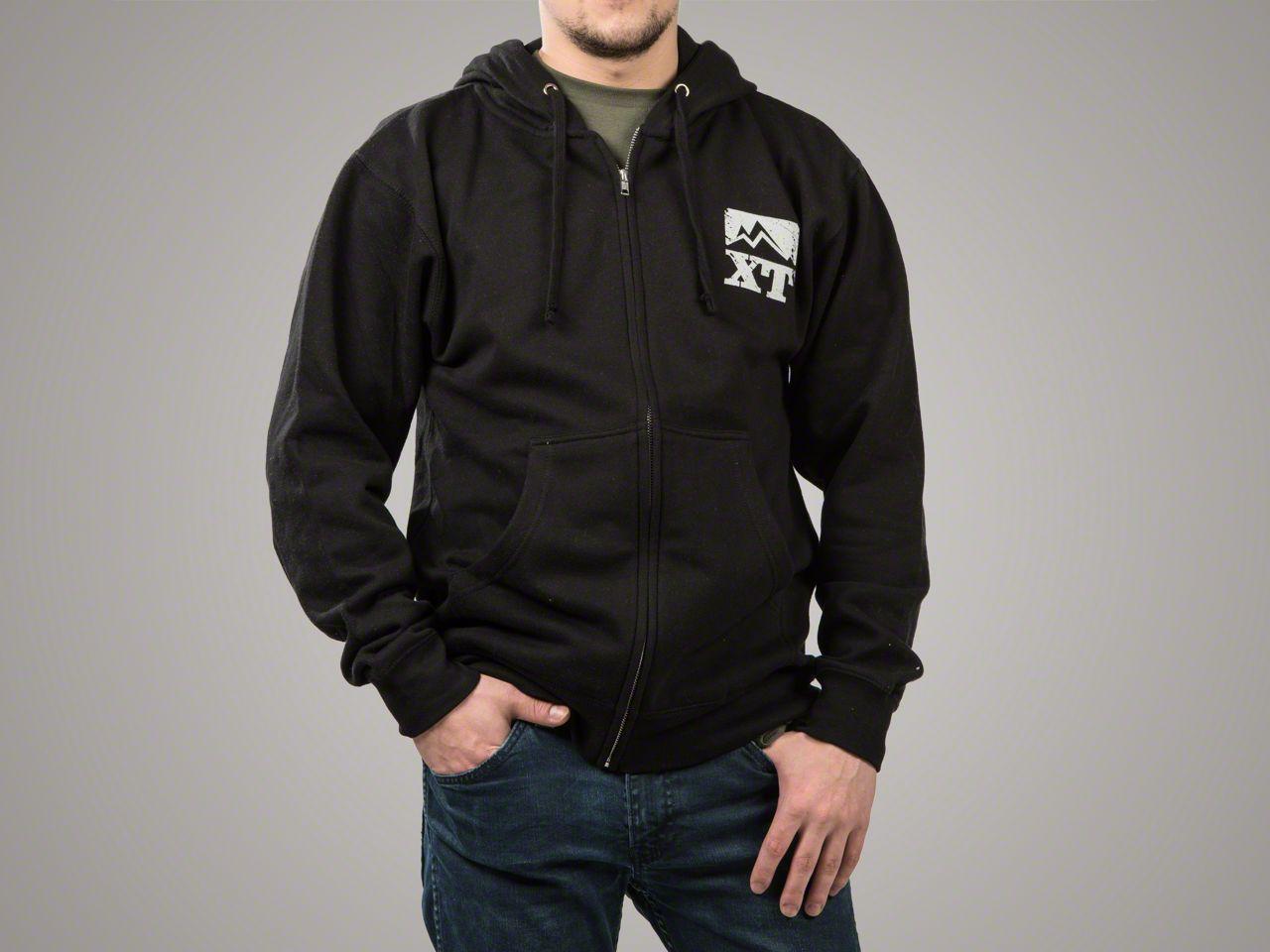 Grunge Full Zip Hoodie (XL)