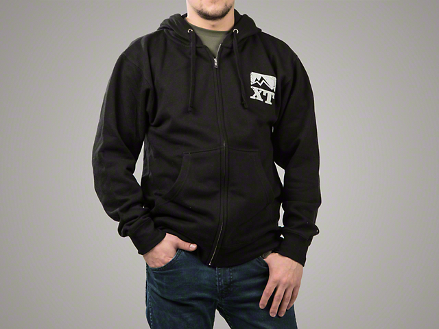 XT Grunge Full Zip-Up Hoodie