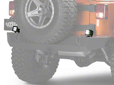 Raxiom Auxiliary/Backup Light Kit (87-18 Jeep Wrangler YJ, TJ, JK & JL)
