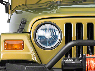Delta Classic 7 Xenon in. Headlight Kit (97-06 Wrangler TJ)