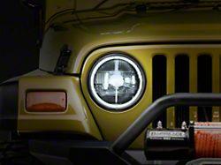 Delta Classic Xenon Halo 7 in. Headlight Kit (97-06 Jeep Wrangler TJ)