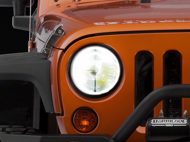 Delta 7-Inch Classic LED Headlights (97-06 Jeep Wrangler TJ)