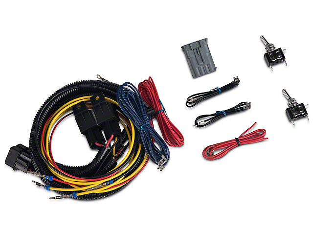delta jeep wrangler skybar 6 light wiring harness 05-9570-6bx (97-18 jeep  wrangler tj, jk & jl) - free shipping