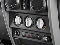 DV8 Offroad Billet Climate Control Knobs (07-10 Jeep Wrangler JK)