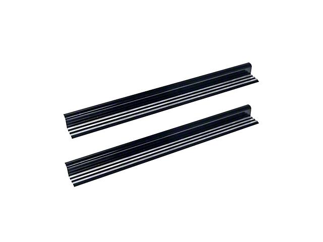 Drake Off Road Billet Door Sill Plates (07-18 Jeep Wrangler JK 2 Door)