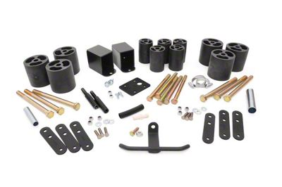 Rough Country 3 in. Body Lift Kit w/o Shocks (87-95 Jeep Wrangler YJ)