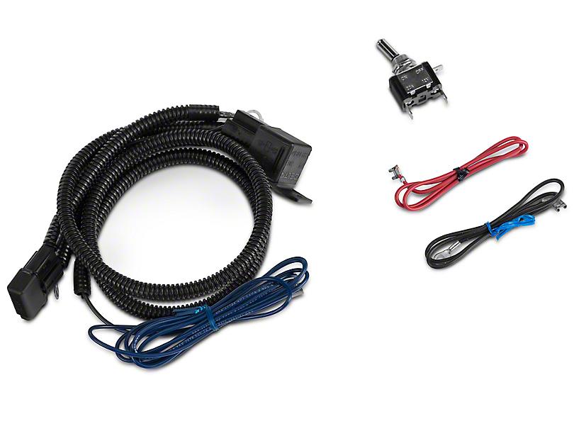 Delta Hood or Grille Bar Wiring Harness (97-18 Jeep Wrangler TJ, JK & JL)