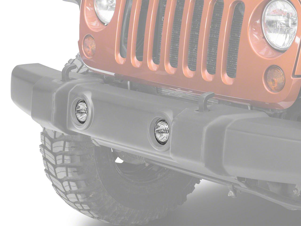 Delta Xenon Fog Light Kit (07-18 Jeep Wrangler JK)