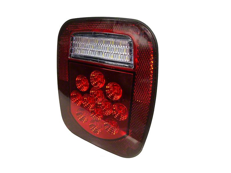 Delta LED Driver's Side Tail Light (87-06 Jeep Wrangler YJ & TJ)