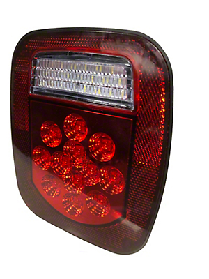 Delta LED Driver's Side Tail Light (87-06 Jeep Wrangler YJ & TJ)