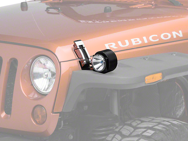 Delta Xenon Fender Light Kit (07-18 Jeep Wrangler JK)